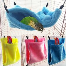 Pet Parrot Pocket Cotton Hammock Bird Sleeping Pocket Hamster Nest Cage Tent Toy