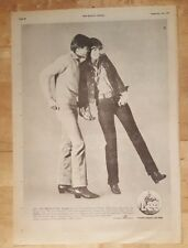 Lee Jeans ranger vintage  1977 press advert Full page 28x 39 cm poster