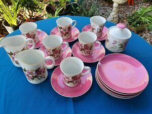 Vintage Royalty By Yamato 22 pieces Fine China tea set Japan