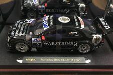 Maisto 1/18 3888 Mercedes-Benz CLK DTM Warsteiner Klaus Ludwig DTM 2000
