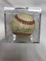 RON SANTO Autograph Signed Baseball Chicago Cubs Legend HOF