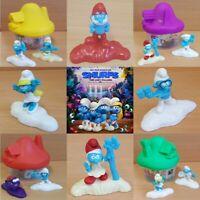 McDonalds Happy Meal Toy 2017 Smurfs Lost Village Mushroom Plastic Toys Various