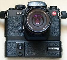 Leica Germany R-7 +  Elmarit 35/2.8 Lens  + BW UV Filter + Austria Film Winder !