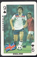 Dandy Gum Football Card - Mexico World Cup 1986 - England - Bryan Robson