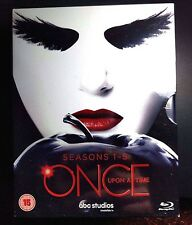 Once Upon a Time: Season 1-5 [Blu-ray] [Region Free] [Season 1 2 3 4 5] ✔NEW✔