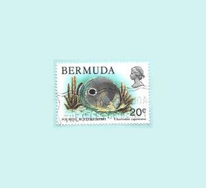 Bermuda 1978 20 Cents Fish Postal Used stamp
