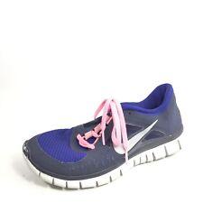 Nike Free Run 3 Womens Size 8 M Black/ Blue Running Sneakers