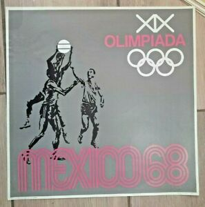 Mexico 1968 Olympic Games Poster #1