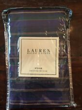 Ralph Lauren Studio Purple Stripe 100% Cotton Standard Sham New SRP$80
