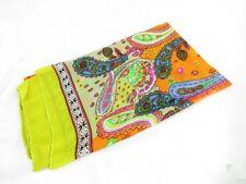 boho vintage paisley design large scarf sarong pareo wrap
