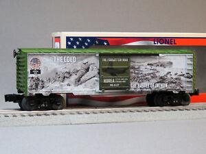 LIONEL KOREAN WAR BOXCAR O GAUGE train military battlefield honor 6-84670 NEW