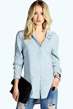 Women's Polyester Striped Casual Tops & Shirts