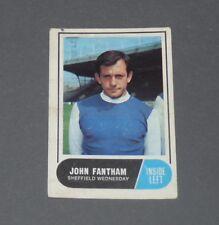 A & BC GUM CARD FOOTBALL ENGLAND 1969 JOHN FANTHAM SHEFFIELD WEDNESDAY OWLS