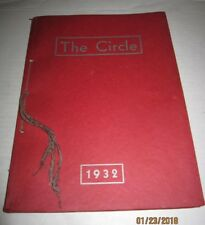 Vintage Circleville Ohio High Scool yearbook 1932 b59