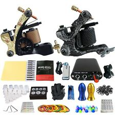 Solong Tattoo Complete Tattoo Kit 2 Pro Machine Power Supply 20 Needles TK201-6