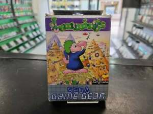 Lemmings - Game Gear [Boxed & complete] - FAST DELIVERY