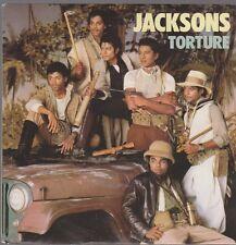 "7"" The Jacksons (Michael Jackson) Torture 80`s CBS Epic (Chart Hit)"