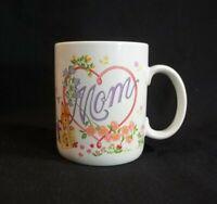 Mom Coffee Cup Mug Avon Bunnies Flowers