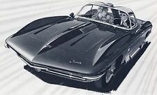 VINTAGE 1962 CHEVY CORVETTE DREAM CAR AC SPARK PLUG NOSTALGIC SALES ADVERT