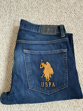 USPA US Polo Assn. Big Pony Logo Men's Jeans. W34 L32