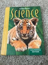 Harcourt Science California Edition 2nd Grade 2 Student Text Hardcover CCSS CA