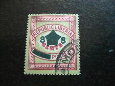 Stamps - Liberia - Scott# 128a
