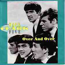 "THE DAVE CLARK FIVE  Over And Over PICTURE SLEEVE 7"" 45 rpm vinyl record NEW"