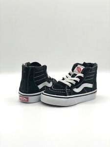 Vans Off The Wall Toddler High Top Shoes Size 4.5