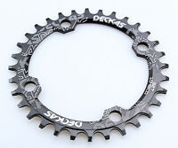 Bike Single Narrow Wide Round Oval Chainring Chain Ring BCD 104mm 32 34 36 38T