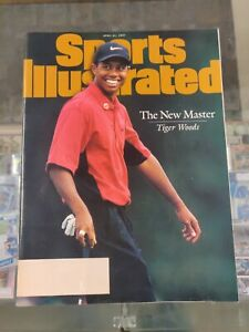 Tiger Woods The New Master 1997 Sports Illustrated Augusta NL 12 Shot Victory