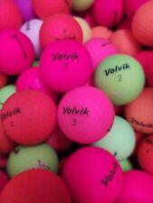 """20 Volvik Vivid Mixed Color Aaaaa-Aaaa Grade Golf Balls Plus """"Free Shipping"""""""