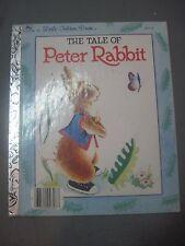 A LITTLE GOLDEN BOOK THE TALE OF PETER RABBIT