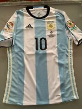 Maglia Jersey Argentina Match Worn Player Issued Messi Copa America 2016 Final