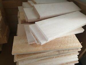 BALSA WOOD blocks (approximate size 100mm x 15mm x 300mm) varing sizesNEW RRP$16