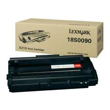 Original Lexmark Toner 18S0090 for Lexmark X215 NEW B
