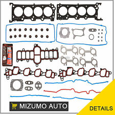 Fit 01-02 Ford F150 E150 Crown Victoria Expedition 4.6 VIN W Head Gasket Set