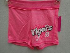 Detroit Tigers Girls 7/8 Youth Triblend Jersey Shorts 819
