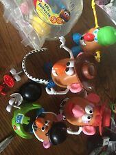 Mr Potato Head Mrs Potato head Bucket of Accessories Toy Story Plus