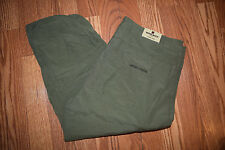 NWT Womens WOOLRICH Cypress Green Hiking Cargo Capris Sz 6 $59