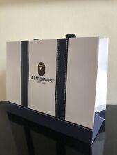 "New A Bathing Ape Bape Small Paper Shopping Bag Navy Blue 8""X10"""