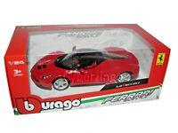 Ferrari LaFerrari Race And Play Bburago 1:24 Red Diecast Model Car NEW WITH BOX
