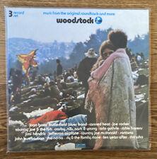 VARIOUS, WOODSTOCK, COTILLION RECORDS, BLUE & PINK VINYL, LIMITED, MINT, 3 LP