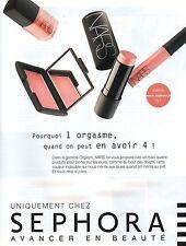 Publicité Advertising 2008 SEPHORA avancer en beauté