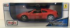 MAISTO FERRARI 348TS RED  1:18 SPECIAL EDITION  MODEL CAR  2015 MODEL NEW
