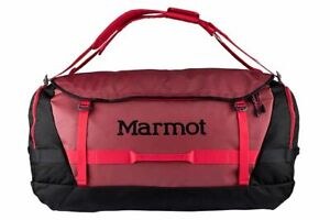 Marmot Long Hauler Travel Red Duffel Bag B3802
