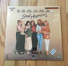 Steel Magnolias Laser Disc -Dolly Parton, Julia Roberts and Sally Field