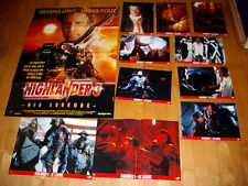 Kinoplakat+Photosatz.   Highlander 3-die Legende  CHRISTOPHER LAMBERT