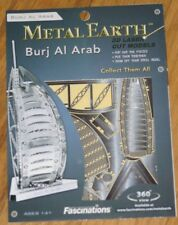 Burj al Arab Metal Earth 3D Laser Cut Metal Model Fascinations Dubai