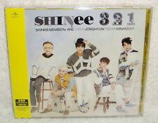 SHINee 3 2 1 Taiwan CD only +Trading Card [Japanese Lan] 321