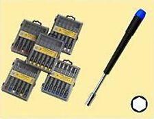 Sechskant Steckschlüssel Set 6-tlg. M2-M5 für feine Arbeiten geeignet
